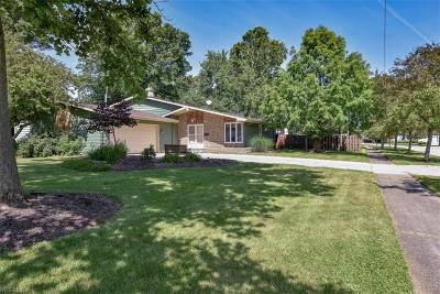Olmsted Falls Single Family Home For Sale: 9289 Basswood Drive