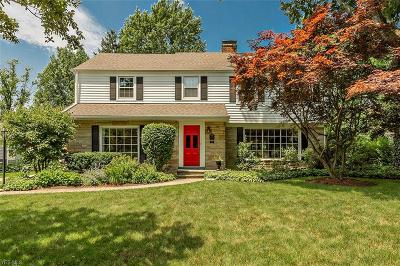 Shaker Heights Single Family Home For Sale: 2946 Boyce Road