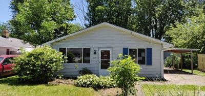 Painesville OH Single Family Home Active Under Contract: $66,000