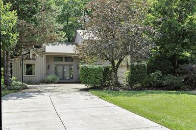 Solon Single Family Home For Sale: 5161 Lansdowne Drive