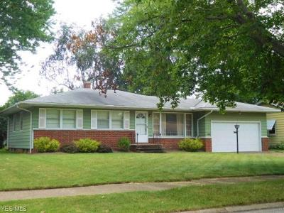 Fairview Park Single Family Home For Sale: 3780 W 213th Street