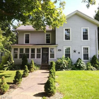 Andover Single Family Home For Sale: 243 W Main Street