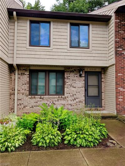 Reminderville Condo/Townhouse For Sale: 10263 Spinnaker Run