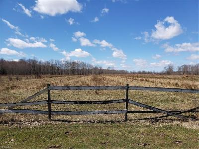 Jefferson Residential Lots & Land For Sale: Stanhope Kelloggsville Road