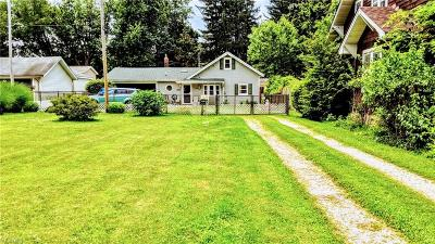 Painesville OH Single Family Home Active Under Contract: $109,500