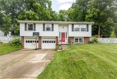 Twinsburg Single Family Home Active Under Contract: 2221 Croydon Road