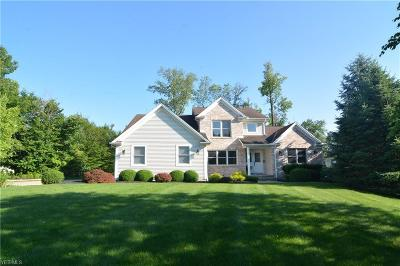 Macedonia Single Family Home Active Under Contract: 1144 Meadow Woods Drive