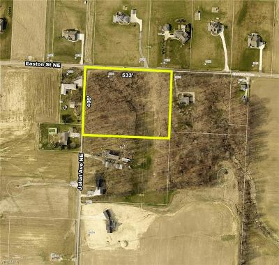 Stark County Residential Lots & Land For Sale: Easton Street
