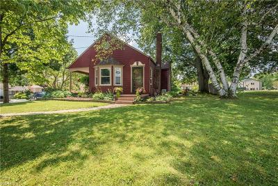 Copley Single Family Home For Sale: 3430 Copley Road