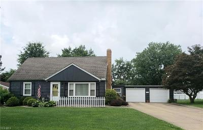 Canton Single Family Home Active Under Contract: 155 Hilltop Drive