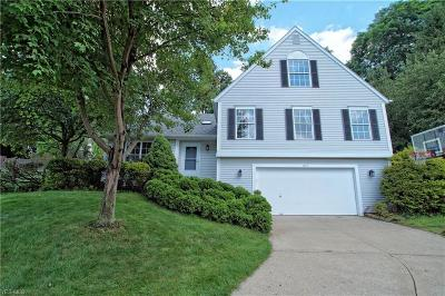 Twinsburg Single Family Home Active Under Contract: 1677 Newport Cove