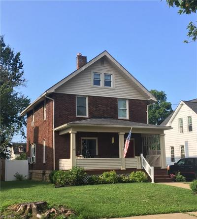 East Palestine Single Family Home Active Under Contract: 133 W North Avenue