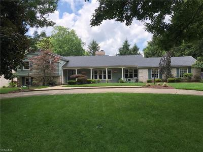 Canfield Single Family Home For Sale: 4098 Fairway Drive