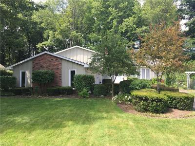 North Olmsted Single Family Home For Sale: 27420 Benwood Circle