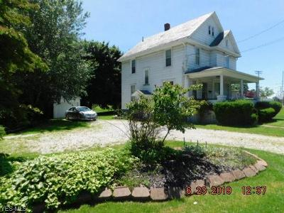 Ashtabula Single Family Home Active Under Contract: 1430 Prospect Usr 20 Road