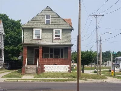 Ashtabula OH Single Family Home For Sale: $39,900