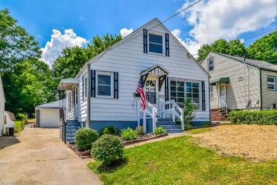 Canton Single Family Home Active Under Contract: 1622 Colonial Boulevard