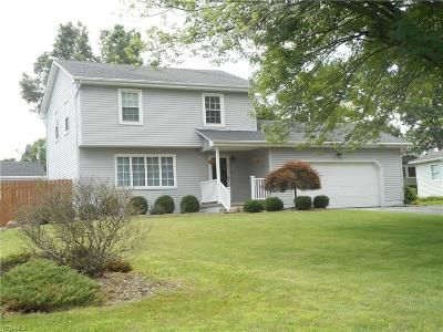 Canfield Single Family Home Active Under Contract: 3424 Maple Spring Drive