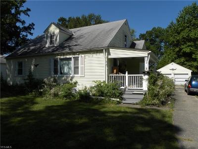 Elyria Single Family Home For Sale: 382 Abbe Road