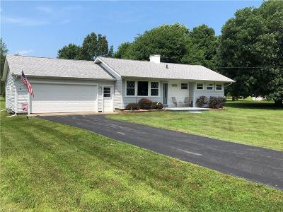Conneaut Single Family Home For Sale: 7257 Poore Road