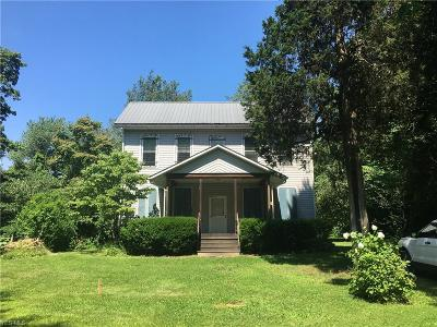 Guernsey County Single Family Home For Sale: 62177 Willow Road