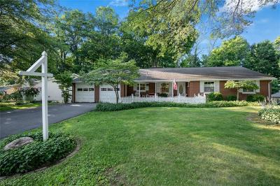 Columbiana Single Family Home For Sale: 156 Manor Drive