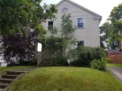 Struthers Single Family Home For Sale: 389 Creed Street