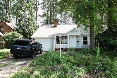 Single Family Home For Sale: 485 Columbia Road