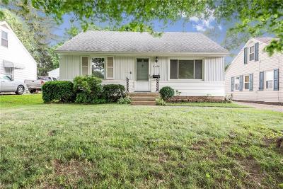 Canton Single Family Home For Sale: 4144 Harrison Avenue