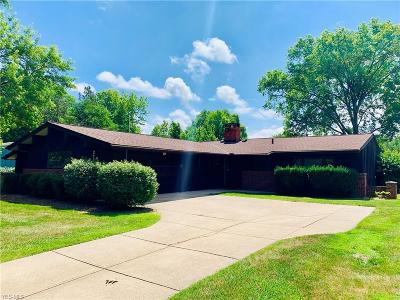Rocky River Single Family Home Active Under Contract: 2703 Country Club Boulevard