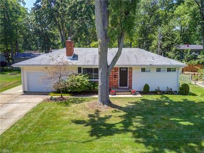 Avon Lake Single Family Home Active Under Contract: 238 Fairfield Road