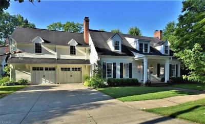 Chagrin Falls Single Family Home For Sale: 63 Center Street