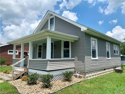 Vienna Single Family Home For Sale: 1207 12th Street