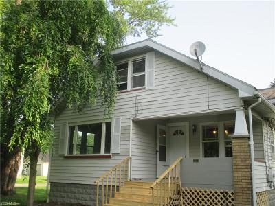 Poland Single Family Home For Sale: 5162 Center Road