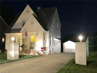 Boardman OH Single Family Home Active Under Contract: $89,999