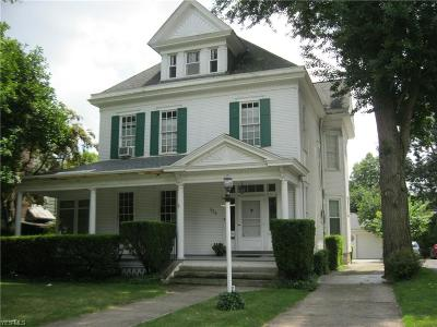 Zanesville Single Family Home For Sale: 836 Adair Ave