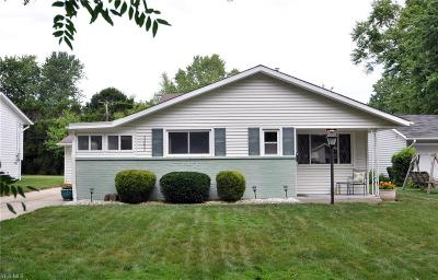 North Olmsted Single Family Home For Sale: 23892 Vincent Drive
