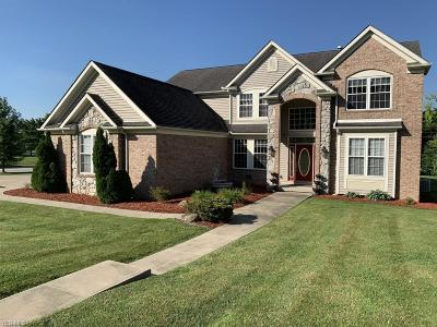 Macedonia Single Family Home For Sale: 7630 Pond Brook Lane