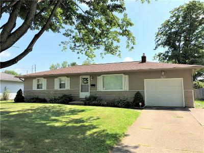 Youngstown Single Family Home For Sale: 1775 Innwood Drive