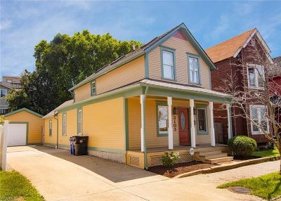 Cleveland Single Family Home For Sale: 3103 Church Avenue