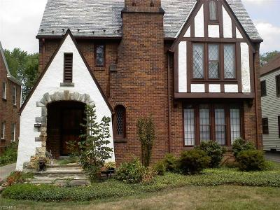 Shaker Heights Multi Family Home Active Under Contract: 18507 Newell Road