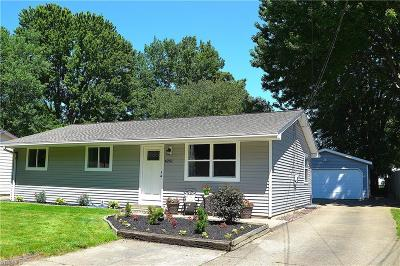 North Ridgeville Single Family Home For Sale: 6251 Wallace Boulevard