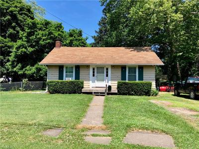 Ashtabula Single Family Home For Sale: 1529 Perryville Place