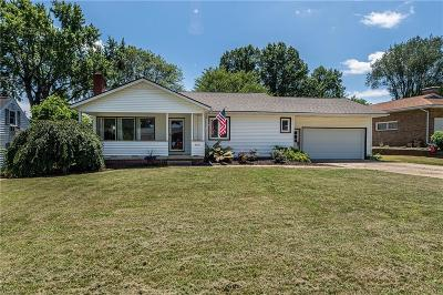 Canton Single Family Home Active Under Contract: 4318 Crestwood Street