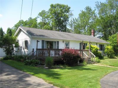 Medina County Single Family Home Active Under Contract: 1852 Ridgewood Road
