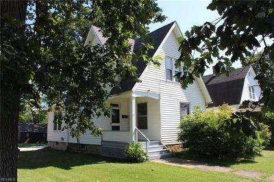 Sebring OH Single Family Home For Sale: $39,900