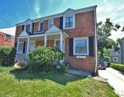 Shaker Heights Single Family Home For Sale: 3383 Colwyn Road