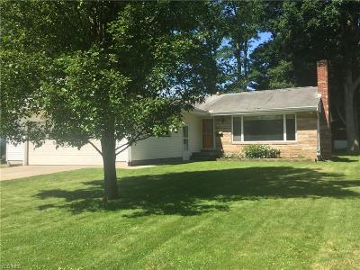 Columbiana Single Family Home For Sale: 60 Lakeview Drive