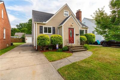 Single Family Home For Sale: 3011 Hearthstone Road