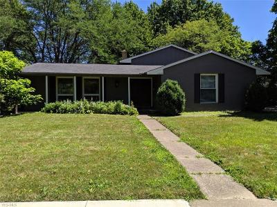 Mentor Single Family Home Active Under Contract: 6325 Gatewood